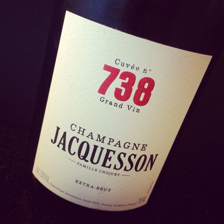 Champagne Jacquesson extra brut, Cuvée No. 738