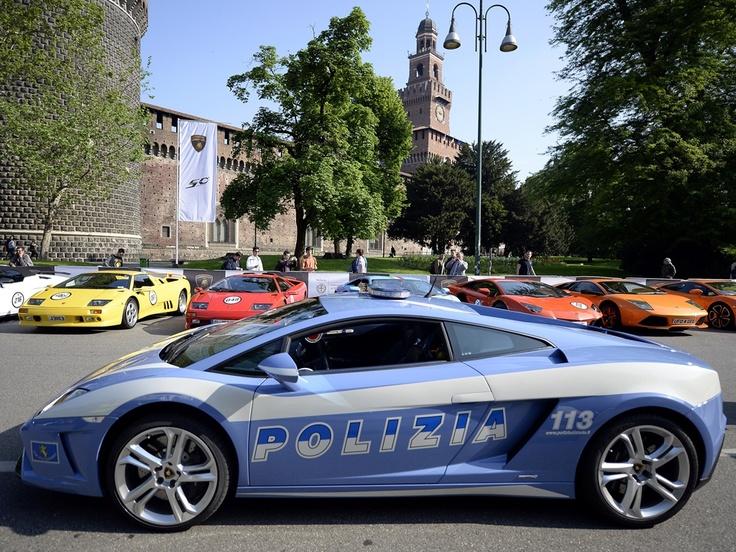 Lamborghini police car!