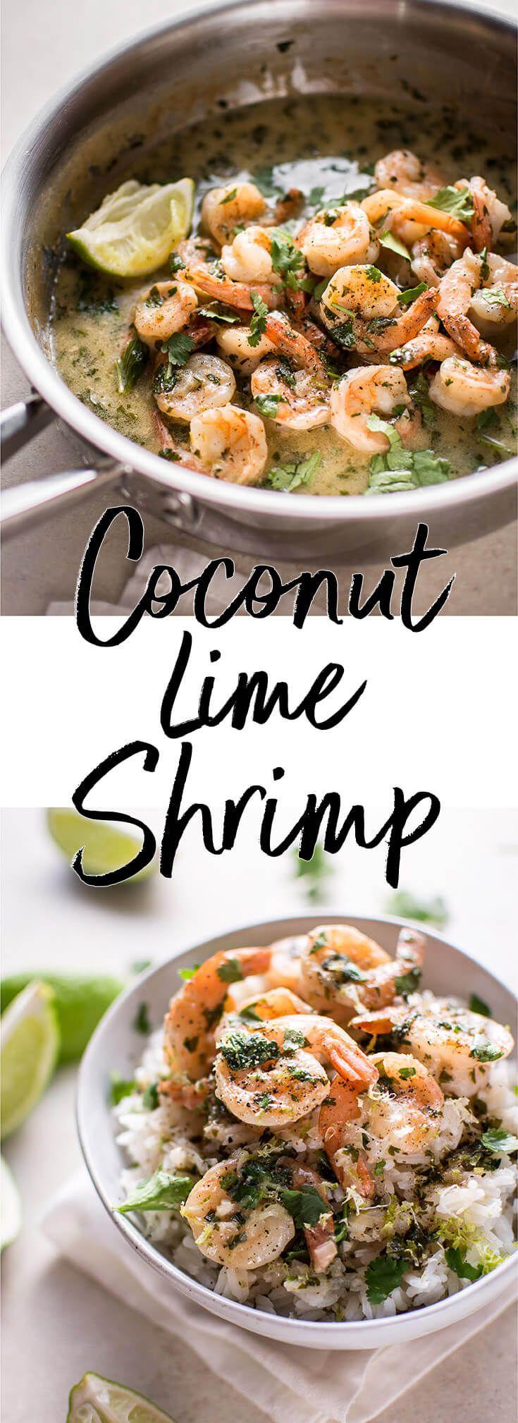 Coconut Lime Shrimp