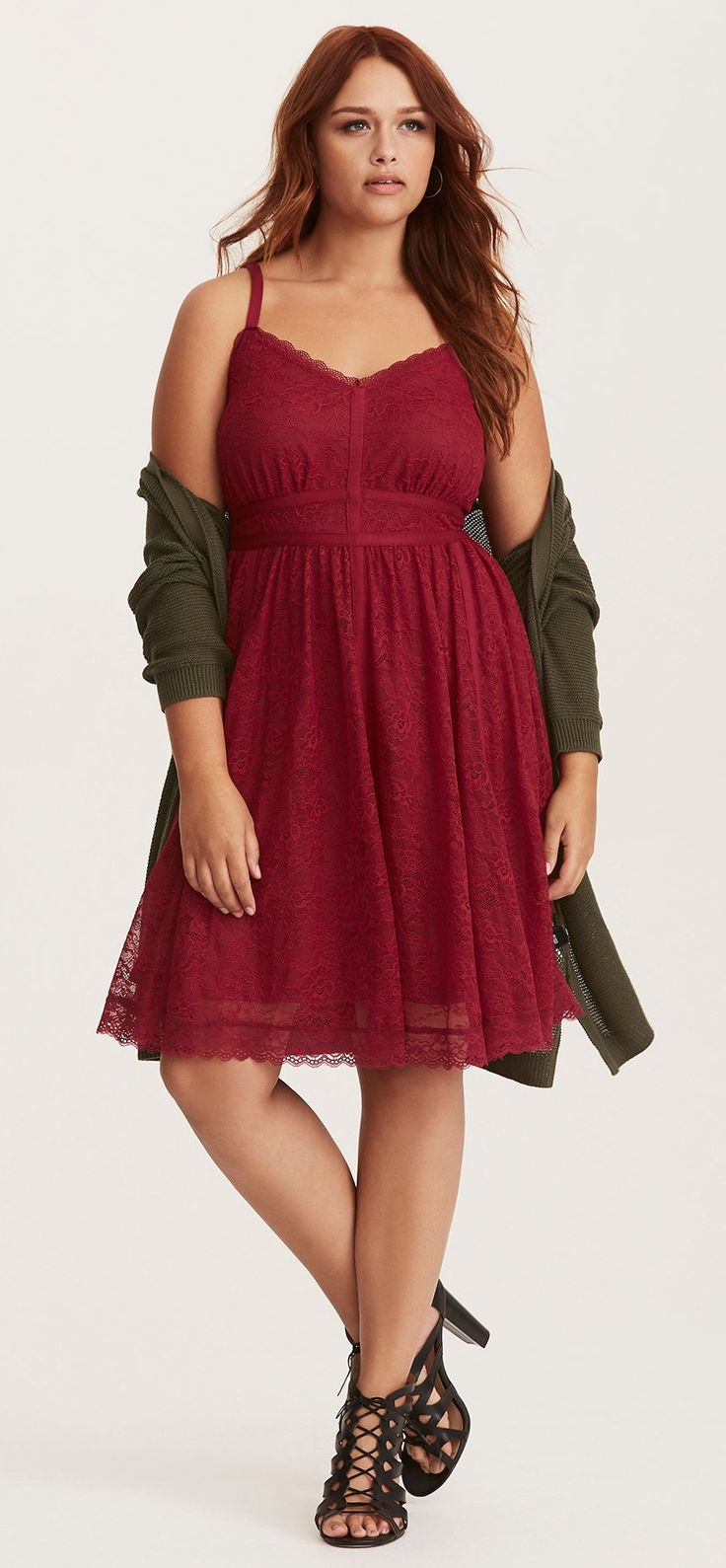 Plus Size Skater Dress