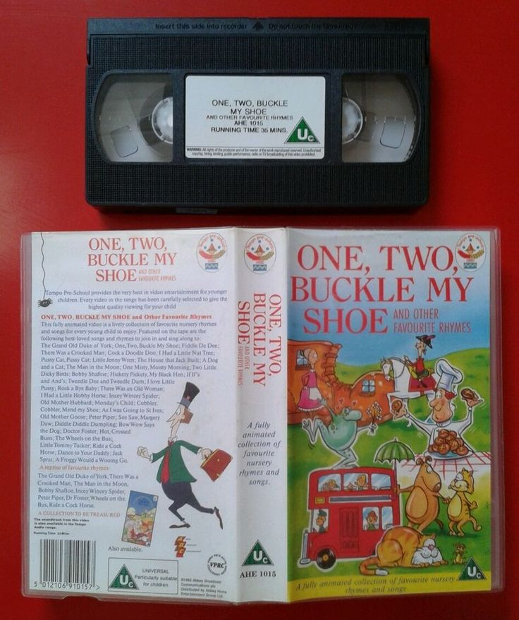 ONE TWO BUCKLE MY SHOE & OTHER NURSERY RHYMES / VIDEO PAL