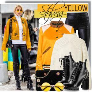 Styling Yellow - Caro Daur
