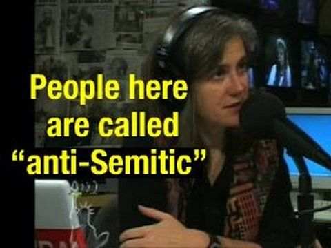 "***""You shall not give false testimony against your neighbor. Exodus 20:16*** ""It's a Trick, We Always Use It."" (calling people ""anti-Semitic"").//  In an 14 August 2002 interview with American journalist Amy Goodman, Shulamit Aloni described how she believes the charge of antisemitism is used to suppress criticism of Israel."