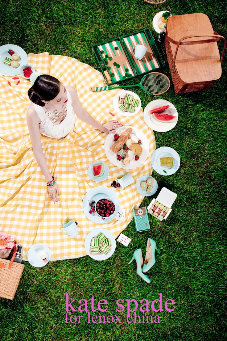 Shot by one of our favorite photographers, Liz Von Hoene, for kate spade by Lenox China.