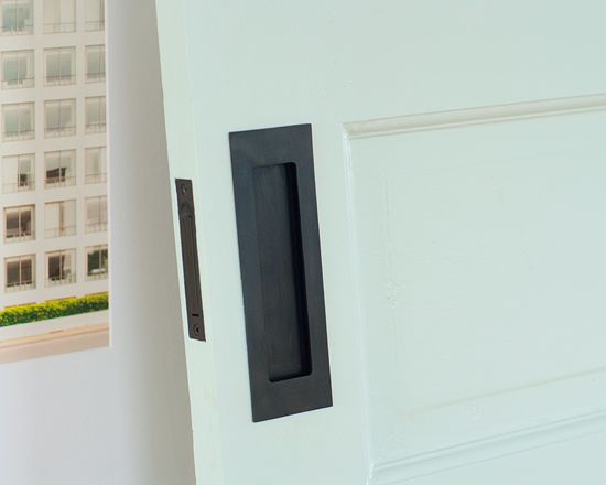 oil-rubbed bronze pocket door hardware