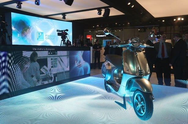 Piaggio's first electric Vespa to go on sale next year