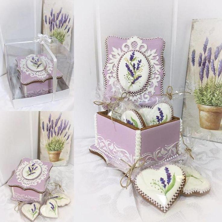 lavender jewellery box by Sveta