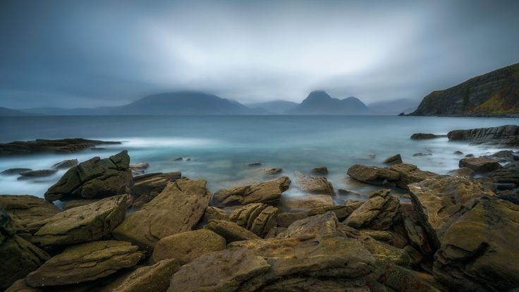 Elgol - Elgol beach, Isle of Skye, Scotland, UK