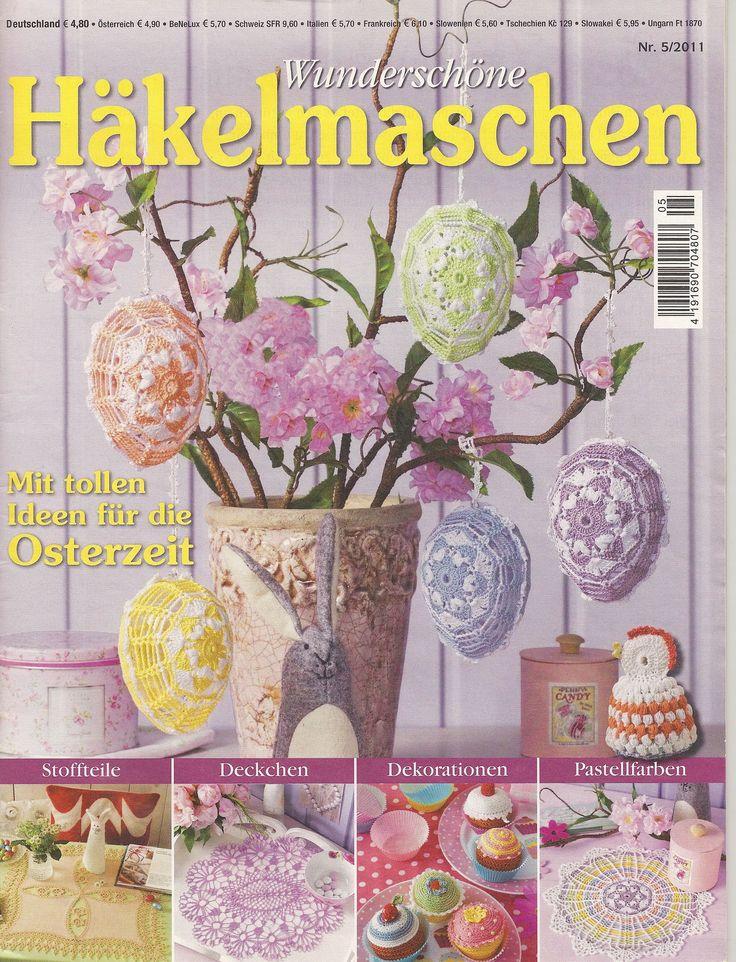 Wunderschone Hakelmaschen №5 2011 s 1 of 55