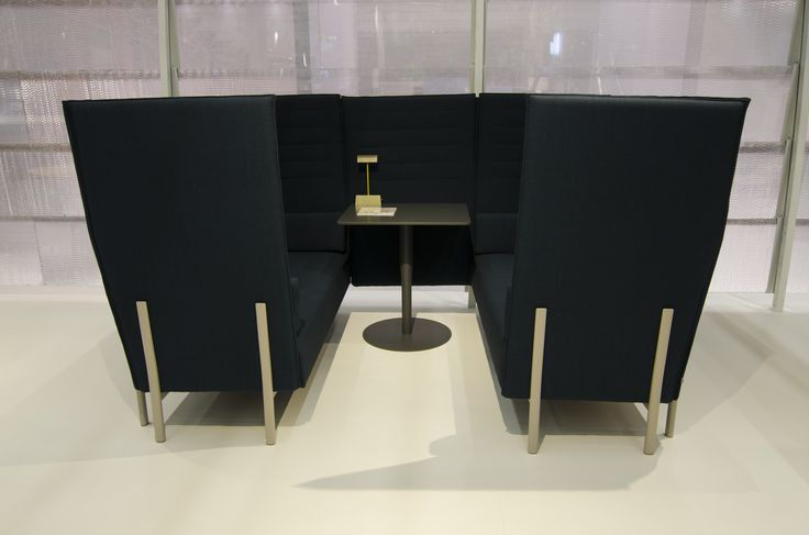 Alias @ ORGATEC 2016 New office collections eleven high back privacy sofa by PearsonLloyd