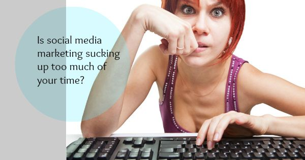Social media marketing taking up too much of your time? Free ebook here...