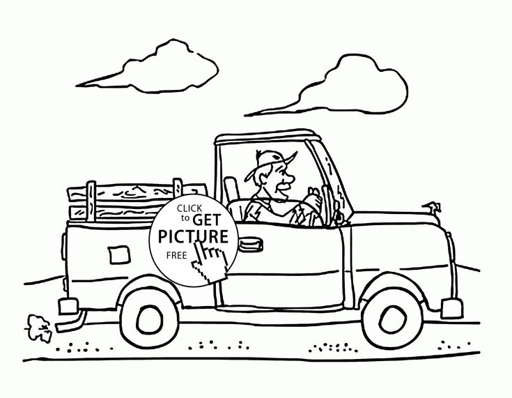 341 Besten Transportation Coloring Pages Bilder Auf