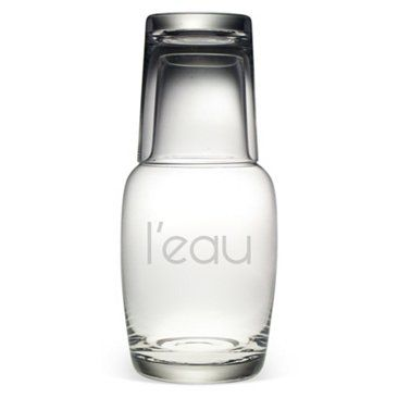 Check out this item at One Kings Lane! L'eau Night Bottle Set, 32oz
