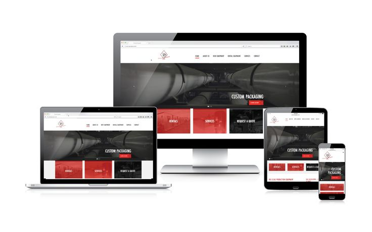 Priority Projects awesome new website features a bold red and black colour scheme and is easily accessible no matter what you view it on #webdesign #responsiveweb #onlinemarketing