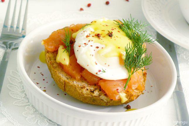 Классика мировой кулинарии и немного домашней стряпни - Яйцо Бенедикт (Копенгаген)