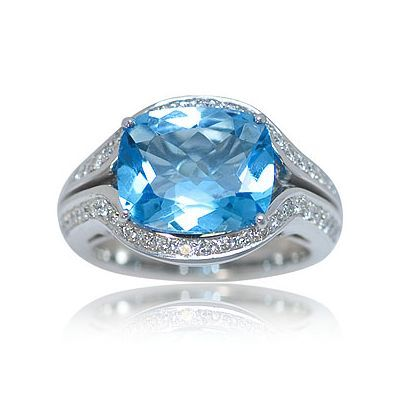Here is one additional attractive colored gemstone ring - Parris Jewelers, Hattiesburg, MS #gemstones