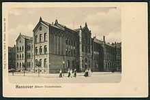 HANNOVER Höhere Töchterschule 1898 heute Wilhelm-Raabe-Schule (Hannover)