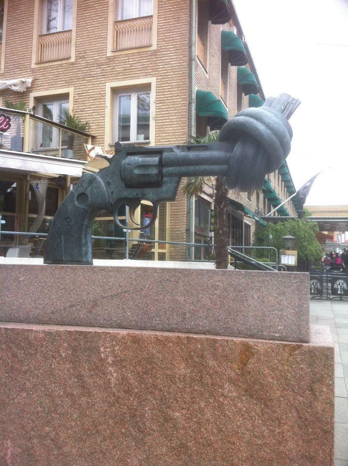 Statue in Goteborg
