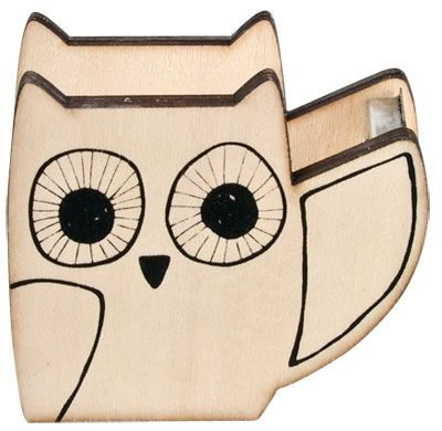 Tape holder (a/w 2013) #lagerhaus #owl #homeoffice #giftwrapping #tapedispencer
