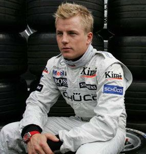 Kimi-Matias Räikkönen is a Finnish racing driver. He drives in Formula One for Lotus in 2012