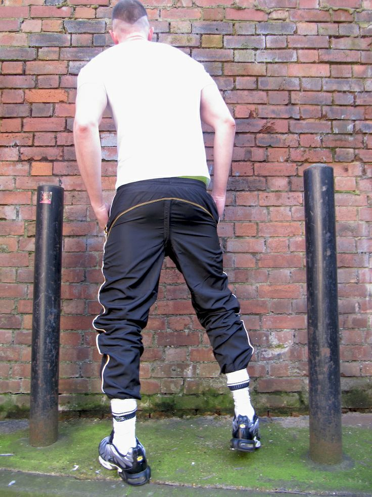 In stock: Back-zip trackies: £59 - £79:  For sports lads everywhere we have original, branded trackie bottoms with a twist.   Like some of our bleachers, these trackies come with a concealed back zip, with the trackies themselves customised from all new and original trackies.   Available in various sizes:  Lonsdale black...http://bit.ly/1js5CNw...  Adidas grey...http://bit.ly/1hbTVp5...  Everlast black...http://bit.ly/1hbTRFN...
