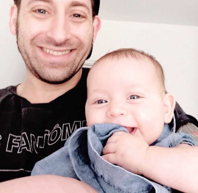 Photo of Joe Trohman  & his  Daughter  Ruby Trohman
