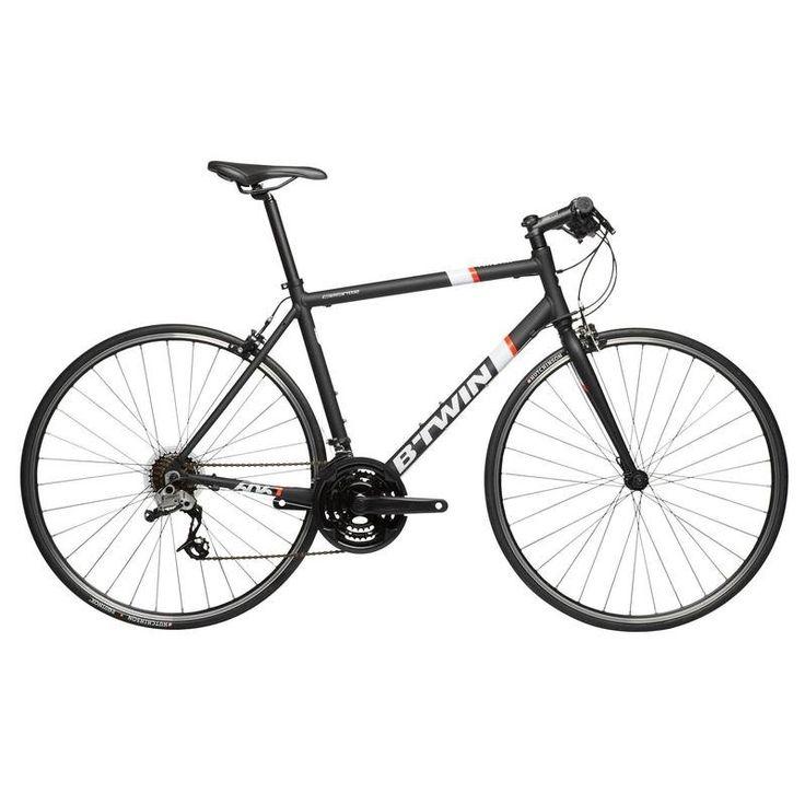 £260.00 - All Bikes - Triban 500 Flat Bar Road Bike - Black - B'TWIN