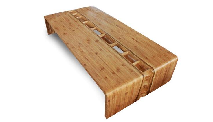 Bamboo Coffee Table by Ibuku Design