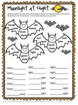 halloween literacy puzzles and games printable halloween word puzzles and word games from games 4 - Halloween Word Game