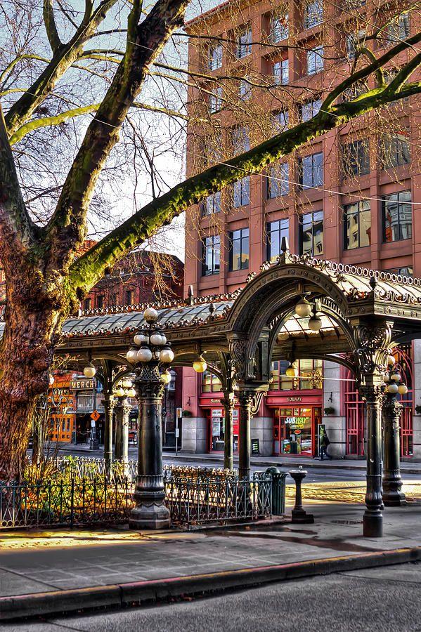 The Pioneer Square Pergola - Seattle