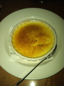 Crème Brûlée from The Keg - What's your favourite dessert?