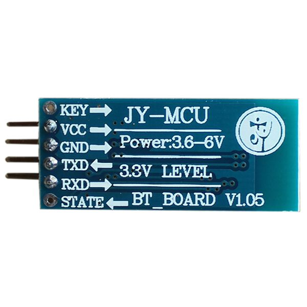Free Shipping JY-MCU v1.06 HC-06 Bluetooth Wireless Serial Port Module for Arduino (Works with Official Arduino Boards) Free Shipping JY-MCU v1.06 HC-06 Bluetooth Wireless Serial Port Module for Arduino (Works with Official Arduino Boards) [TB10198515155] - $8.20 : Skutop.com