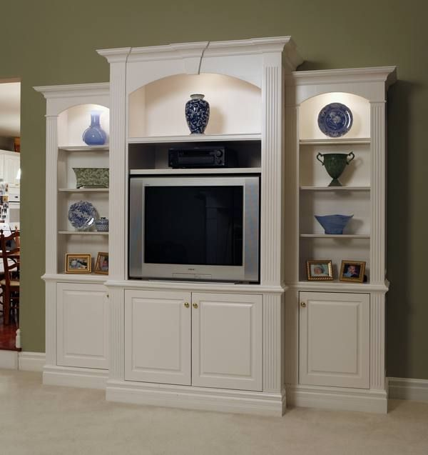 I Like The Cupboard Shape Possibility For Built Ins In: Wall Unit Inspiration