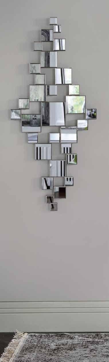 con un diseo cuadrado y con materiales de primeras calidades la nueva coleccin de espejos modernos