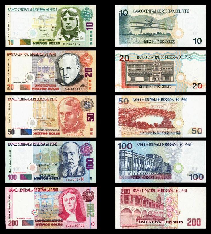 dinero papel Nota Perú marca efectivo moneda documento financiar intercambiar Billetes Billete de banco sello de correos