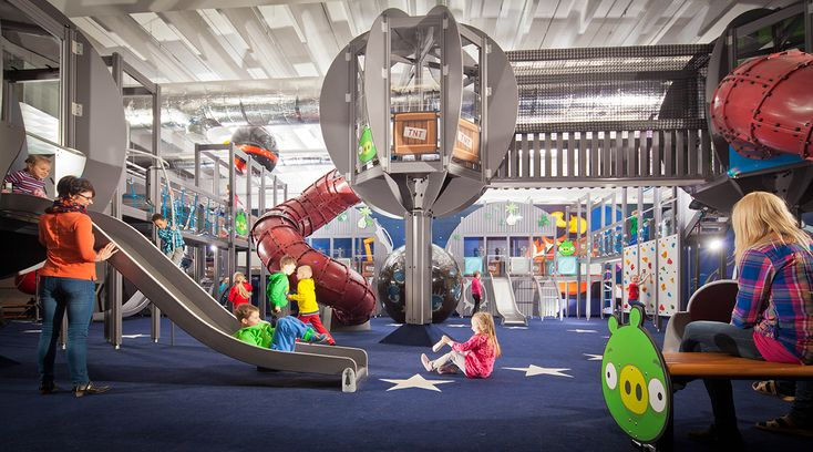 Get inspired by our thematic playgrounds, such as the Space theme  Thematic playgrounds provide children with mental activity essential for the development of their identity. Besides, who wouldn't like to play in a spaceship?