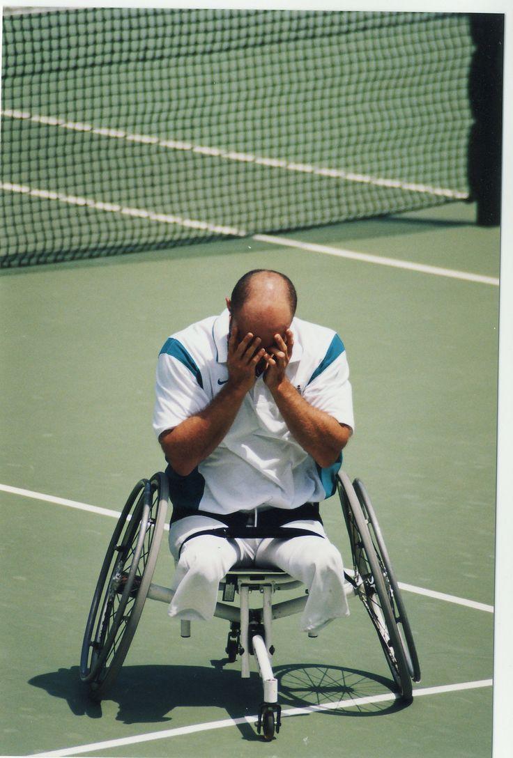 Sydney 2000 ParaOlympic Mens Tennis Singles Gold Medalist - David Hall