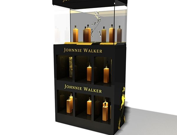 Interior para licoreria - Johnnie Walker on Behance