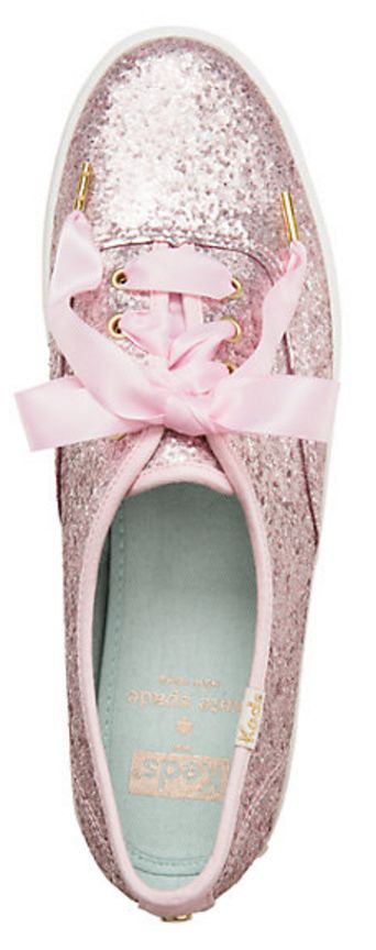 Keds for Kate Spade glitter sneakers