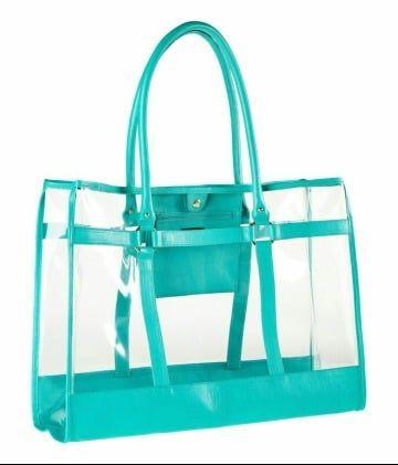 56bd5284a La moda en 2019 en bolsas de playa de plastico   Inspiration   Clear ...