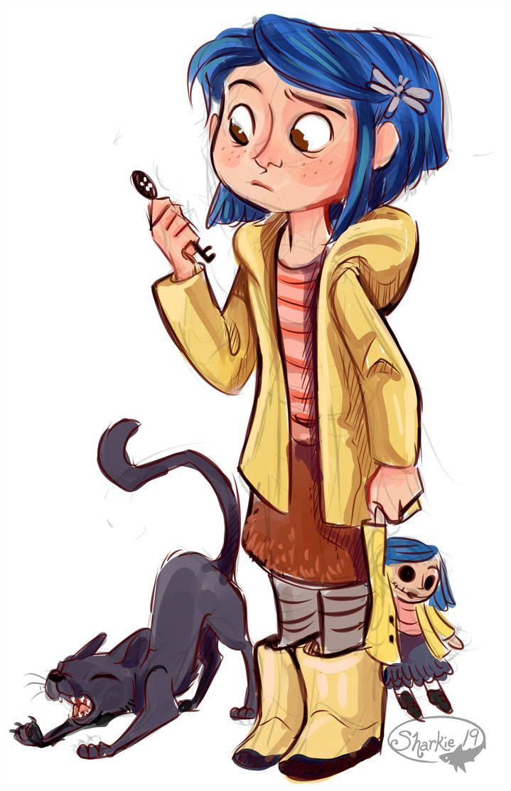 Coraline Sketch By Sharkie19 Coraline Art Coraline Drawing Coraline Jones