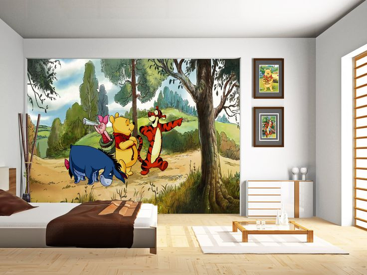 Disney Winnie The Pooh Wallpaper Mural By WallandMore! Beautiful Addition  To Your Childrenu0027s Room. Part 70