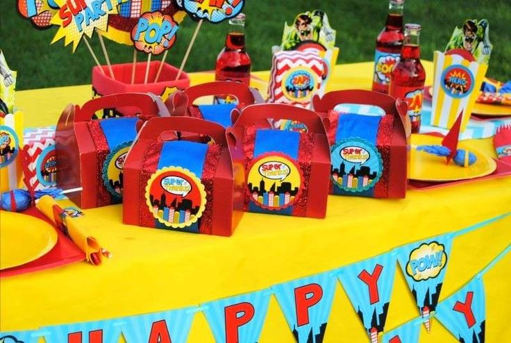 Superheroes Birthday Party Ideas   Photo 1 of 42   Catch My Party