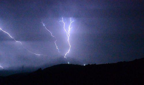 Εντυπωσιακό ήταν το πέρασμα της καταιγίδας «Ευρυδίκη» πάνω από την Ψίνθο