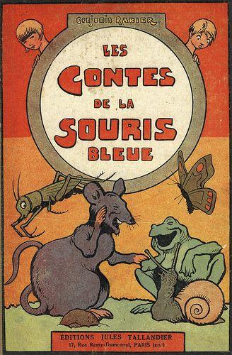 Les Contes De La Souris Bleue by Benjamin Rabier