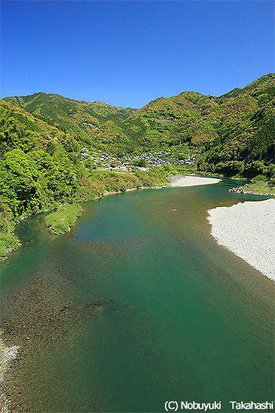 <高知・仁淀川 見所> 魚が豊富にとれる