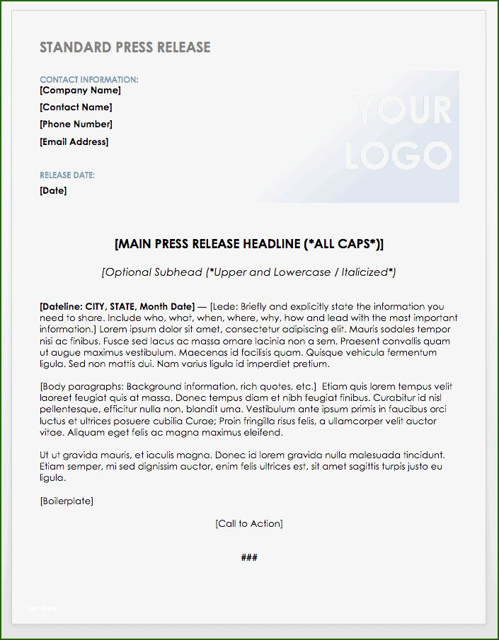 19 Stunning Event Press Release Template To Try Out In 2020 Press Release Template Writing A Press Release Press Release