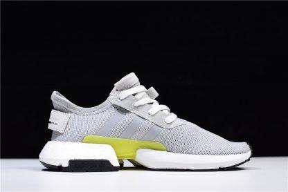 4343208795fa 2018 Mens adidas POD s3.1 Grey Two Grey Shock Yellow B37363 Shoes-1 ...