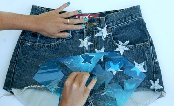 Star Shorts DIY