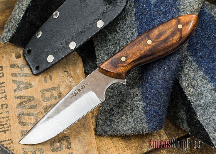 """Carter Cutlery: Muteki Series - Murray's """"Perfect"""" Model - Arizona Desert Ironwood - 73001"""